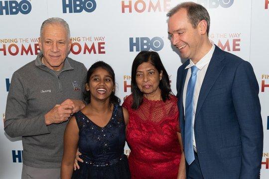 Jon Alpert, Livya Dsouza, Maria Fernandez, Matthew O'Neill at arrivals for FINDING THE WAY HOME Premiere