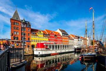 Fototapete - Nyhavn, Kopenhagen, Dänemark