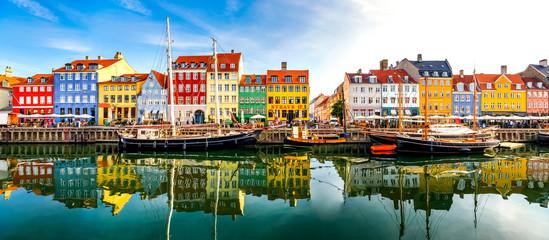 Nyhavn, Kopenhagen, Dänemark  Fototapete