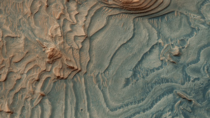 A rare picture from the top of Mars - images from another planet
