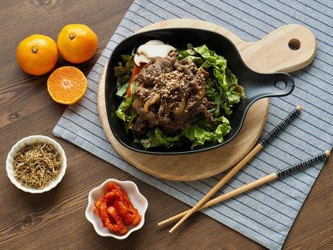 한국의 전통음식 소불고기