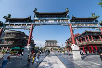 Aluminium Prints Peking Beijing Gate