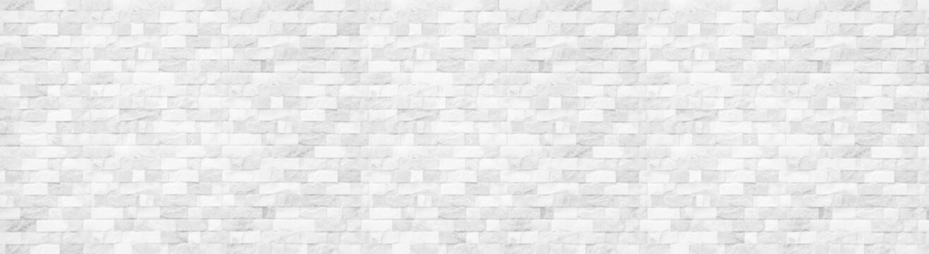 White Slate Marble Split Face Mosaic  pattern and background