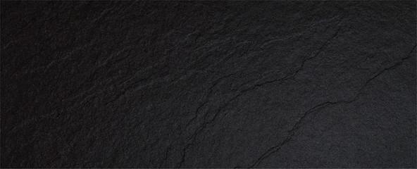 Obraz Rough marble rock black sand wall texture material - fototapety do salonu