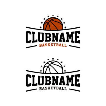 Basketball Club Team Sport, E Sports Emblem Badge Logo design