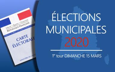Élections Municipales 2020 Fototapete