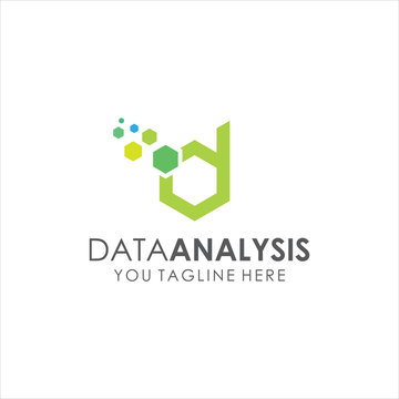 Data Analysis logo simple and modern