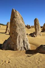 The Pinnacles im Nambung Nationalpark. Westaustralien