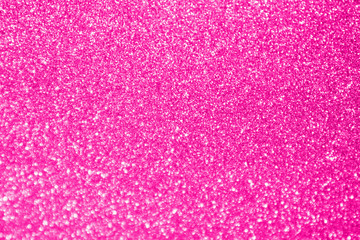 Abstract blur pink glitter sparkle defocused bokeh light background