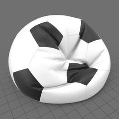 Soccer ball beanbag