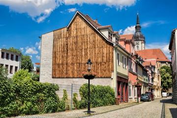 Fotomurales - naumburg, deutschland - sanierte altbauten in der altstadt