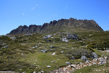 Landschaft im Freycinet Nationalpark. Tasmanien. Australien