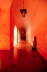 Red hall