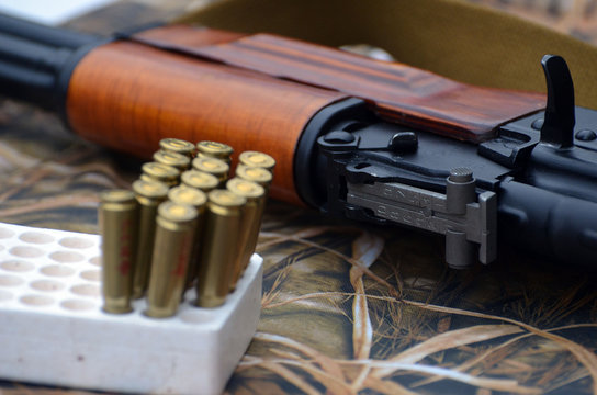Unformal shooting range near Kiev.