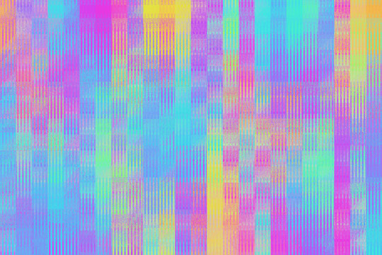 Vibrant Colorful Iridescent Mosaic Background/Pattern