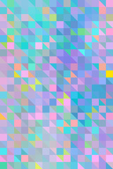 Pastel, iridescent Colorful Mosaic Background/Pattern