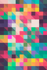 Colorful Mosaic Background/Pattern
