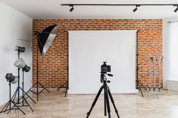 Contemporary photo studio