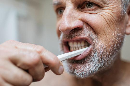 Senior Man Self Care