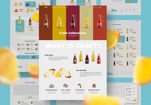 Digital UI E-commerce Layout Set