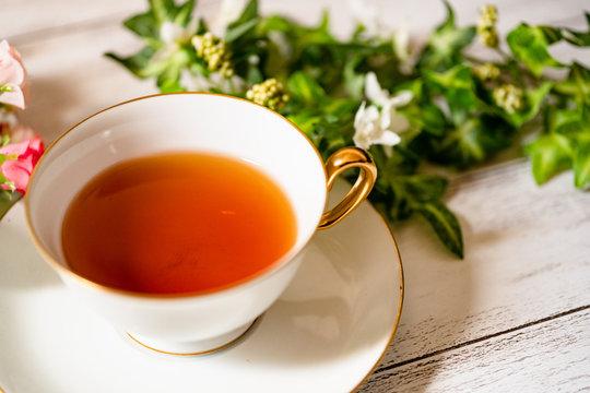 写真素材: 紅茶 ティータイム