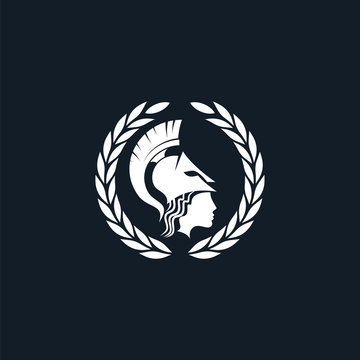 pallas athena logo black white