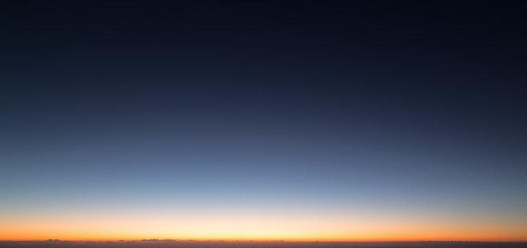 morning sky before sunrise at magic hours twilight time