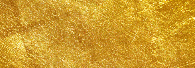 gold texture used as background Fototapete