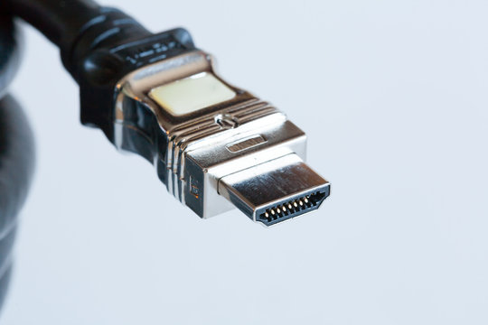 Tech cable with HDMI plug connector isolated