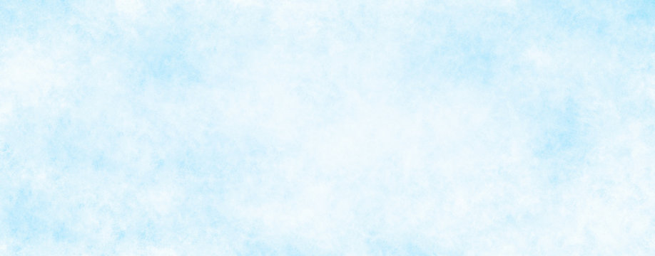 Abstract white blue winter background with space for text or image