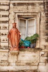 Saint In A Window Of Avignon