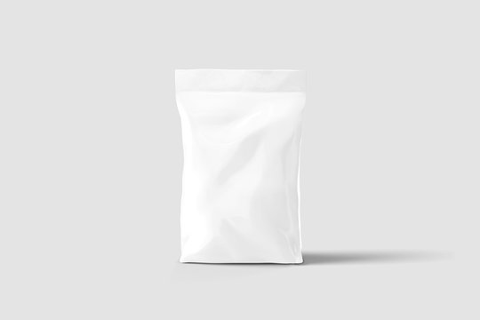 Blank Doy Pack Sachet Pouch Pack Mock up for food, cosmetic and hygiene.3D rendering