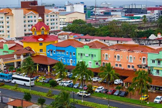Colon is a sea port on the Caribbean Sea coast of Panama