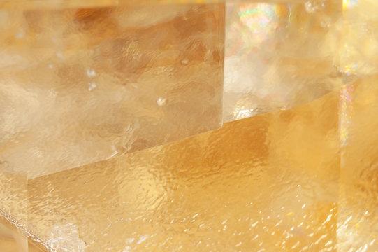 calcite transparent mineral texture background