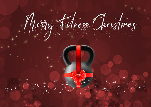 Happy Fitness Merry Christmas and Happy New Year motivation