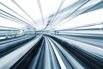 Obraz Motion blur of train - fototapety do salonu