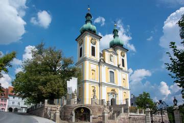 Stadtkirche St. Johann in Donaueschingen im Schwarzwald / Deutschland
