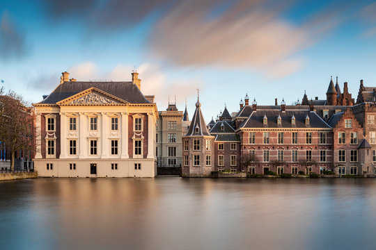 Dutch parliament buildings in The Hague