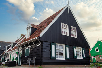 Traditional houses in Holland Fototapete