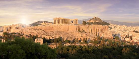 Greece - The Acropolis in Athens Fototapete