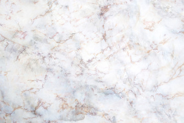 Fotobehang - Abstract white marble background with brown and gray color.Natural patterns for design art work. Stone  wall texture background.