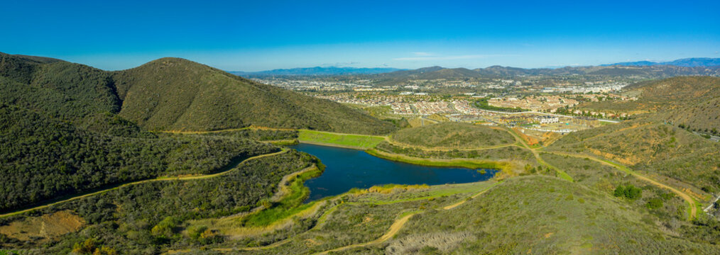 Small Lake in San Marcos, California