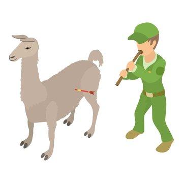 Animal welfare icon. Isometric illustration of animal welfare vector icon for web