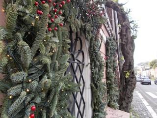 Fototapeta Świąteczne dekoracje na ulicach Rzymu. obraz