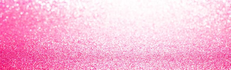 Pink glitter lights texture bokeh background