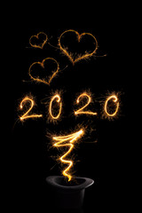 Magical new year 2020.