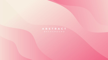 Pink Blue White Yellow Gradient Liquid Wave Abstract Background