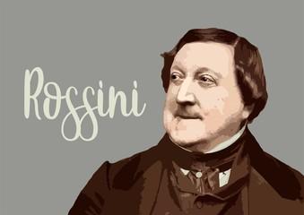 Gioacchino Rossini - composer