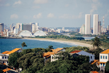 Imagens de Olinda e Recife, no Alto da Sé, Pernmabuco.