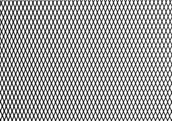 Silhouette Steel Chain link Fence Pattern